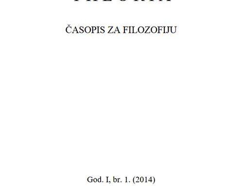 Theoria: Časopis za filozofiju br.1