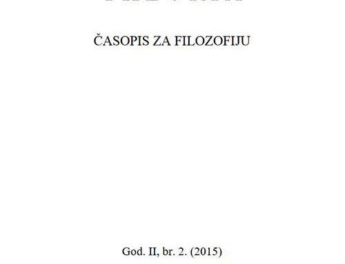 Theoria: Časopis za filozofiju br.2