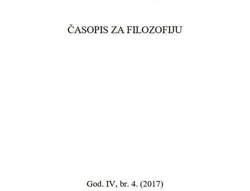 Theoria: Časopis za filozofiju br.4
