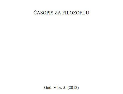 Theoria: Časopis za filozofiju br.5
