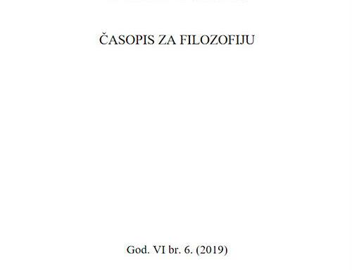 Theoria: Časopis za filozofiju br.6